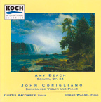 Amy Beach and John Corigliano Sonatas